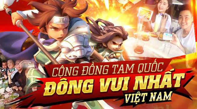 Xemgame tặng 300 Giftcode game Tam Quốc GO mừng Quốc Khánh 2-9