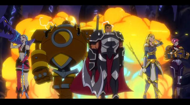 """Liên Minh Huyền Thoại: Riot Games ra mắt phim mới đậm chất """"anime"""" tiếp lửa cho người chơi"""