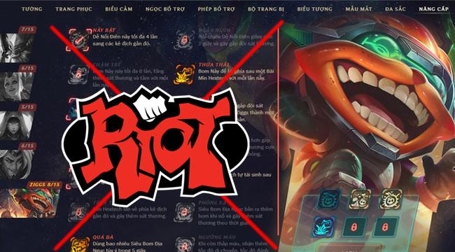 LMHT: Riot Games dập tắt cơ hội vượt ải Cơ Trưởng với Ziggs và 2 nâng cấp