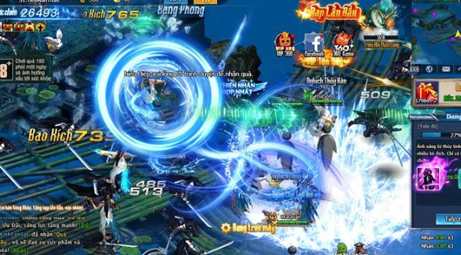 Webgame Nghịch Thủy Hàn khiến người chơi vừa ý với vô số hoạt động phát triển nhân vật