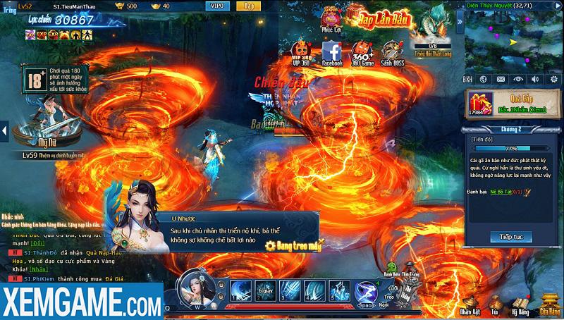 Webgame Nghịch Thủy Hàn | XEMGAME.COM