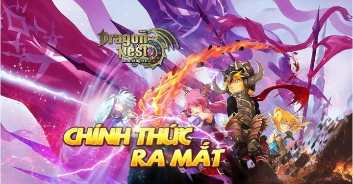 Dragon Nest Mobile VNG ra mắt chính thức cộng đồng game thủ Việt