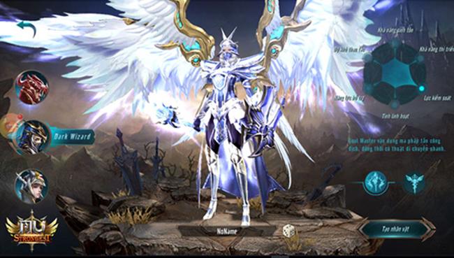 Tộc Wizard trong MU Strongest VNG là những phù thủy đại tài với khả năng dời núi lấp biển