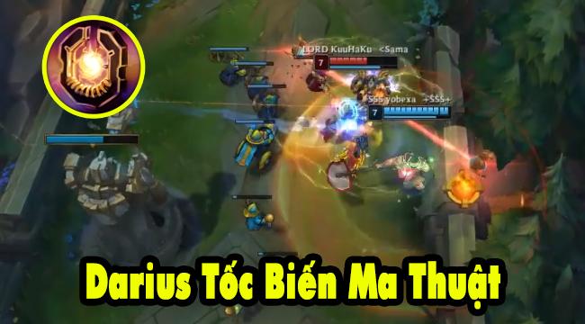 Liên Minh Huyền Thoại: Gánh team với Darius Tốc Biến Ma Thuật – Bạn đã thử chưa?