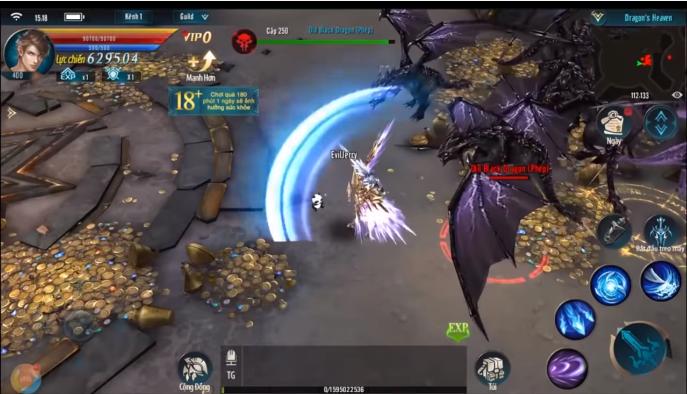 MU Strongest VNG lôi kéo người chơi vào những trận săn boss nảy lữa