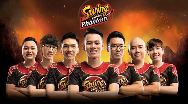 Nhãn hàng Swing đầu tư mạnh vào đội tuyển Liên Quân Mobile – Sài Gòn Phantom