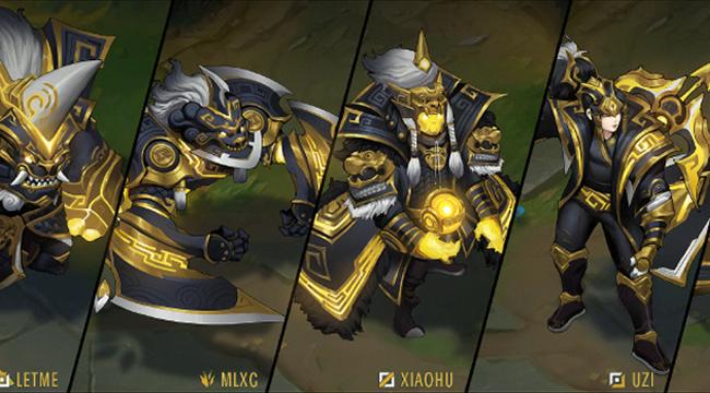LMHT: Mặc dù RNG đã bị loại, fan tiếc nuối thiết kế trang phục CKTG dành tặng Uzi và đồng đội