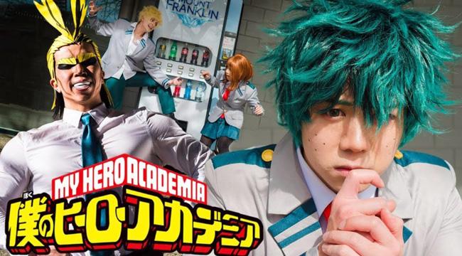 Boku no Hero Academia sẽ được chuyển thể thành Live Action với tạo hình thất vọng tràn trề