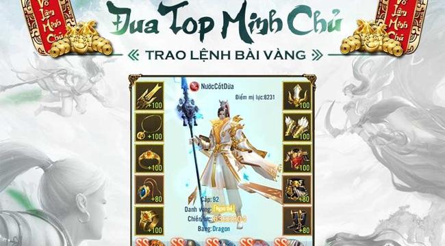 Xemgame tặng 300 giftcode game Nhất Kiếm Giang Hồ mừng Tân Võ Lâm Minh Chủ