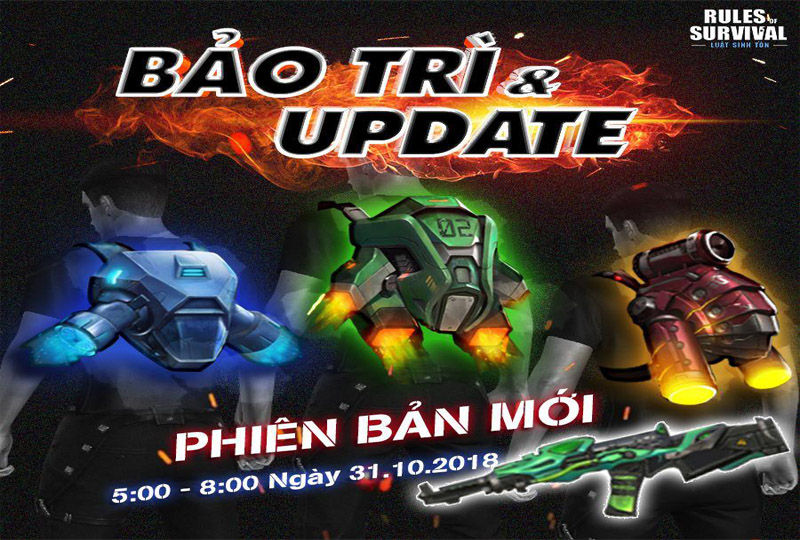 ROS Mobile Update 31/10: Lùi thời gian kết thúc mùa thi đấu thứ 4