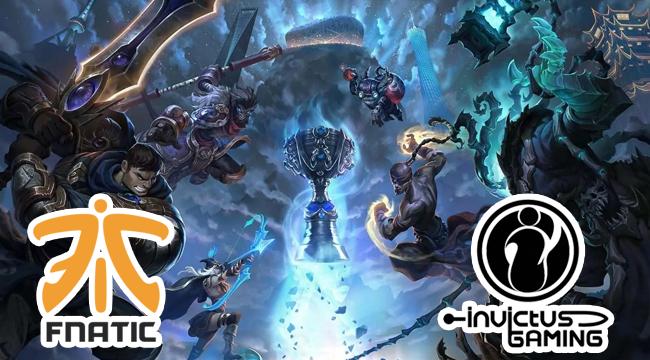 Liên Minh Huyền Thoại: Điều thú vị về cặp chung kết Fnatic vs Invictus Gaming vào cuối tuần này