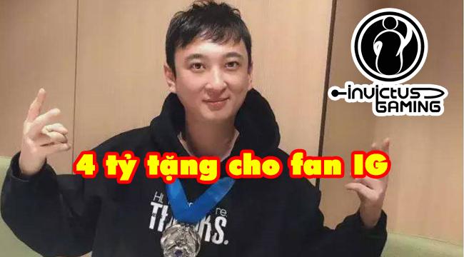 LMHT: Rookie tặng fan iPhone XS Max, Vương Tư Thông chi 4 tỷ đồng làm quà cho fan sau chức vô địch
