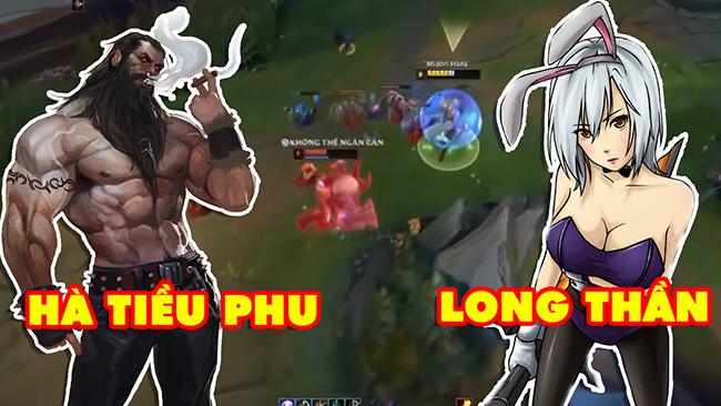 LMHT: Long Thần (Riven) vs Hà Tiều Phu (Olaf) – Cuộc chiến của những boy one champ Việt Nam