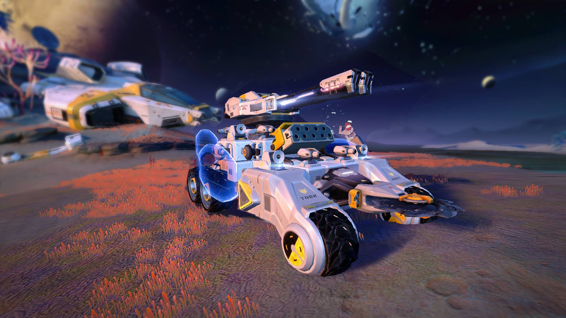 """Rover Rage – game mới cho phép tạo nên một cỗ """"chiến xa"""" theo ý mình"""