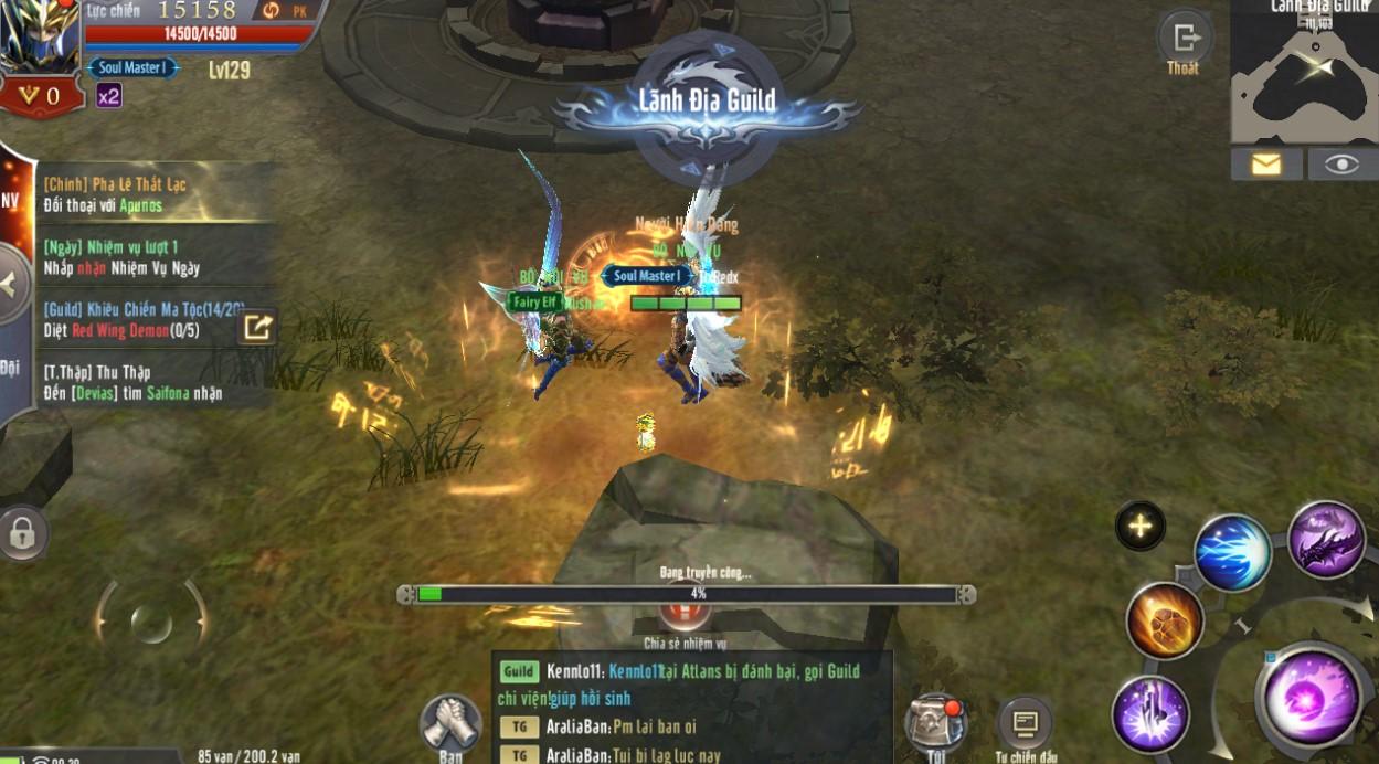 Đã chơi MU Awaken VNG thì phải vào Guild mới tận hưởng trọn vẹn được