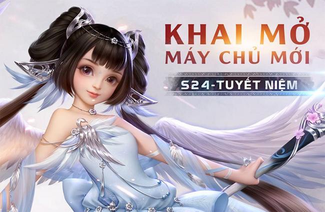 Liệt Hỏa VNG ra mắt server mới Tuyết Niệm ngay trong hôm nay