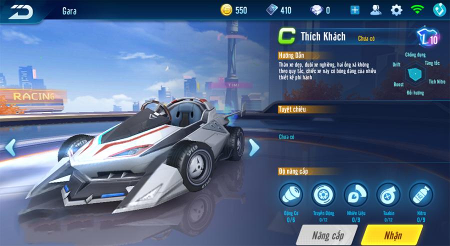 """ZingSpeed Mobile cho phép người chơi """"độ"""" cả xe lẫn nhân vật trong game!!"""