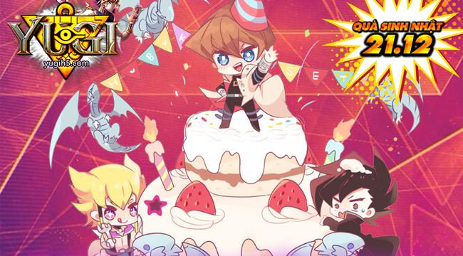 Xemgame tặng 200 giftcode game Yugi H5 mừng sinh nhật 1 tuổi