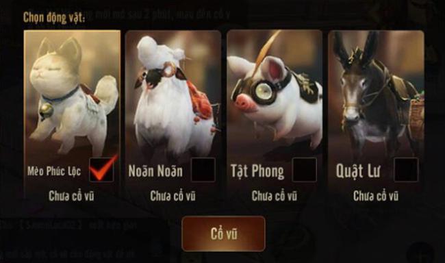 Điểm danh những siêu cấp thú cưng khiến game thủ phát cuồng trong Kiếm Thế Mobile