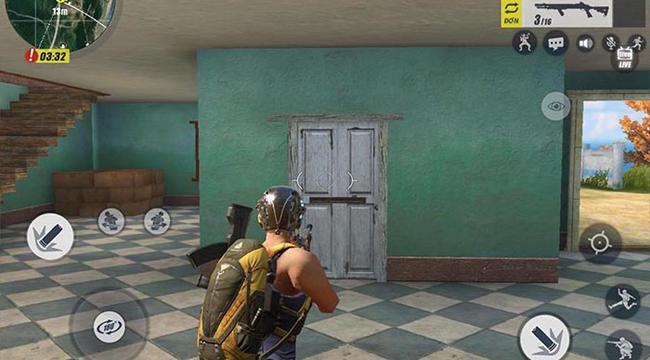 Rules of Survival cập nhật càng chân thực hơn, bạn sắp có thể bắn vỡ cửa nhà!!!