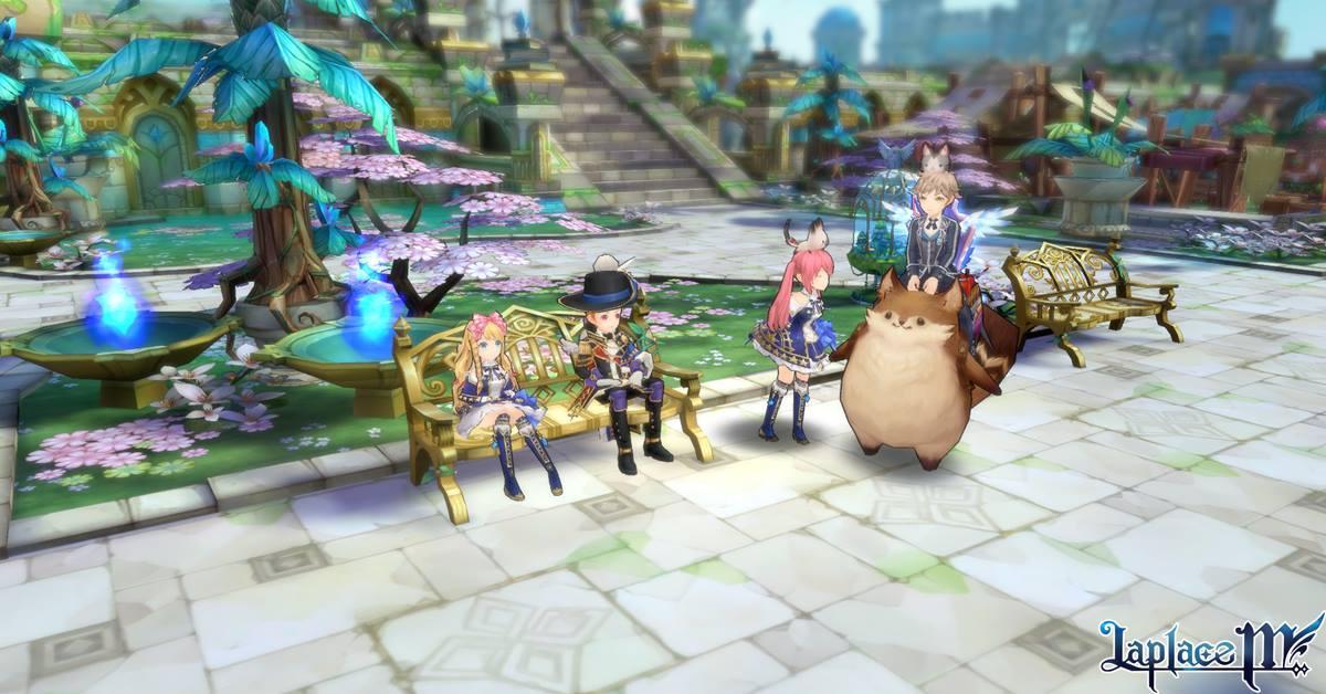 Laplace M – game MMORPG với đồ họa theo phong cách anime siêu đẹp mắt
