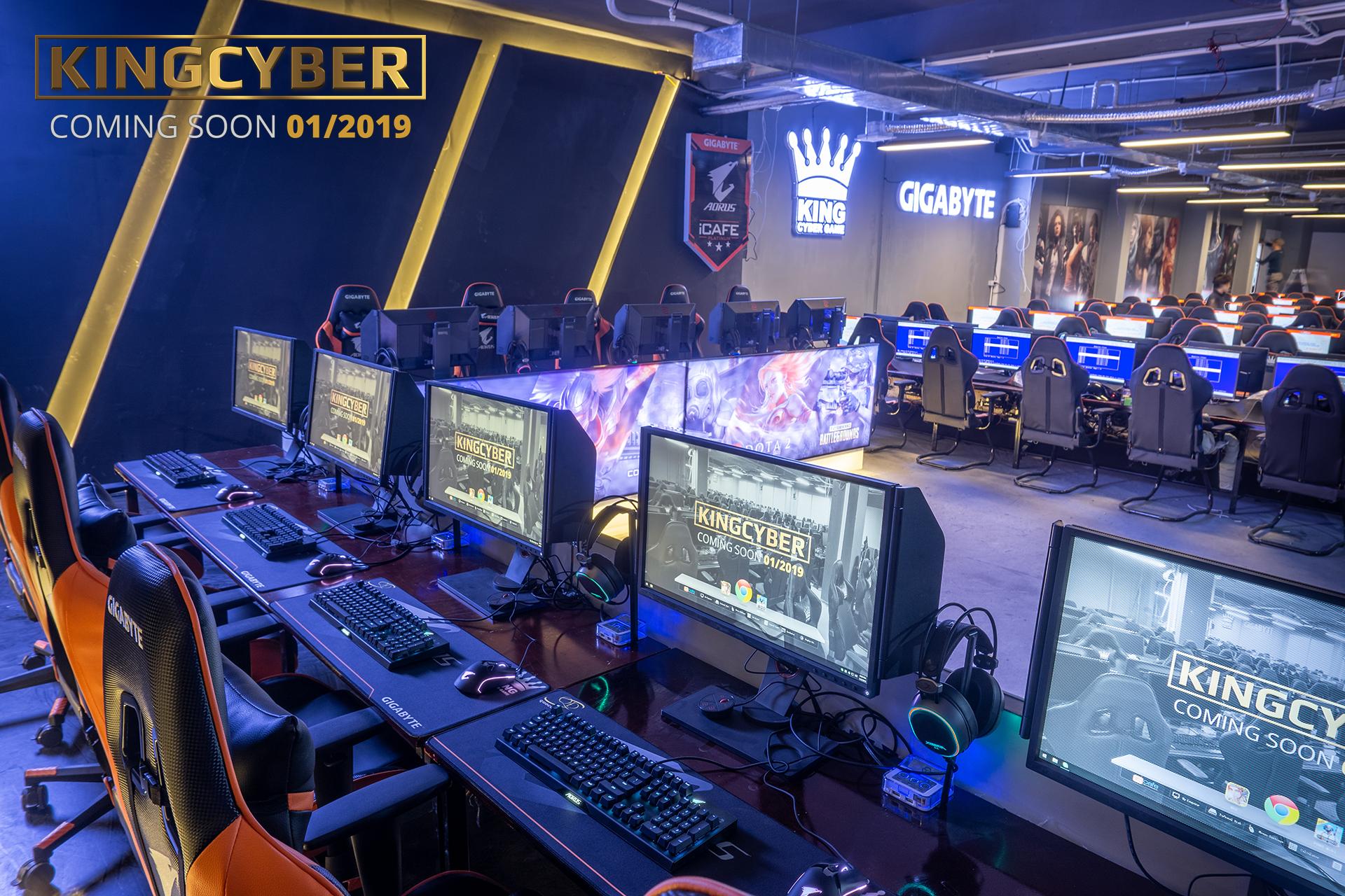 KINGCYBER CC2 Linh Đàm – Quán net chuyên dành cho game thủ eSports sắp ra mắt