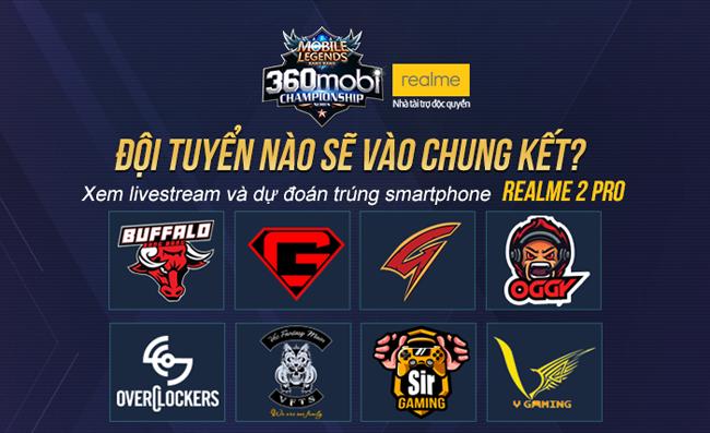 Cùng điểm qua thực lực các đội tuyển trước giờ G vòng Play-off giải Mobile Legends Bang Bang VNG