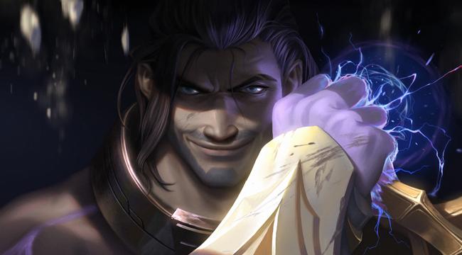 Loạt hình ảnh cho thấy Sylas là mỹ nam của Liên Minh Huyền Thoại