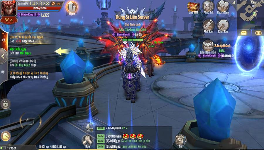 MU Awaken VNG cho người chơi thăng chức lên ngưỡng Master siêu mạnh