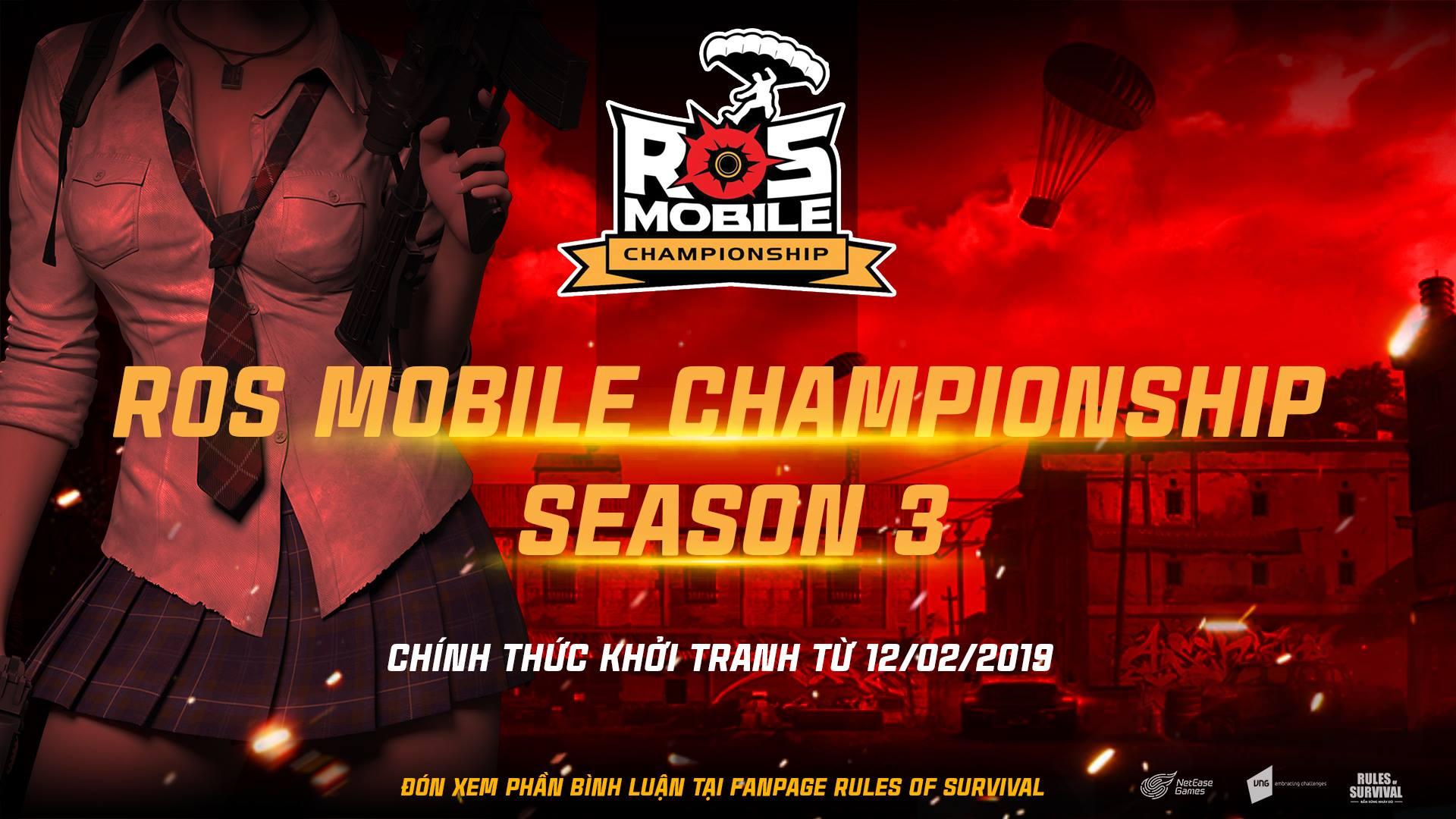 Giải đấu Rules of Survival Mobile Championship 3 chính thức được khởi tranh vào 18h hôm nay 12/2
