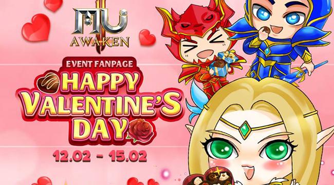 Vừa ăn Tết xong, game thủ MU Awaken VNG lại đón nhận sự kiện Valentine hoành tráng
