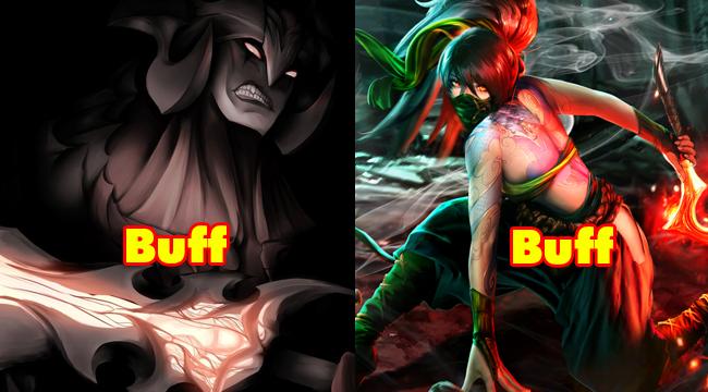 LMHT: Nerf mỏi tay, Riot Games lại tính đường buff cho Akali và Aatrox trong bản 9.5