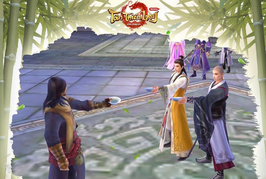 Tân Thiên Long mobile VNG hẹn ngày ra mắt game thủ Việt chính thức