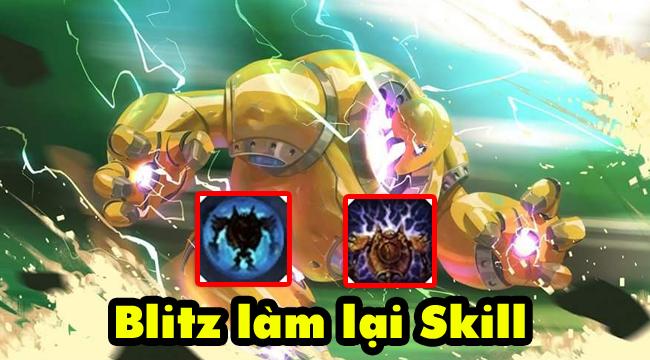 LMHT: Lộ diện kỹ năng của Blitzcrank được làm lại, không còn cảnh vô tình ks lính nữa