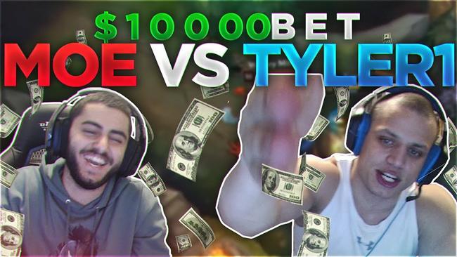 Liên Minh Huyền Thoại: Vụ cá cược 10.000$ vừa có tiếng vừa có miếng của 2 streamer nổi tiếng Tyler1 vs Yassuo
