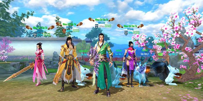 Săn Ngọc chế Đồ là hoạt động thường ngày của người chơi Tân Thiên Long Mobile VNG