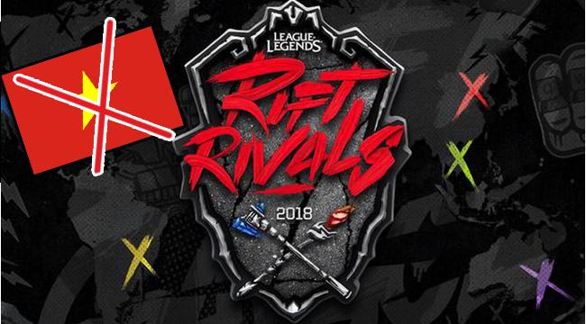 """Sốc: Riot Games thông báo giải đấu Rift Rivals sẽ """"đóng cửa"""" ở Việt Nam và một số khu vực khác"""