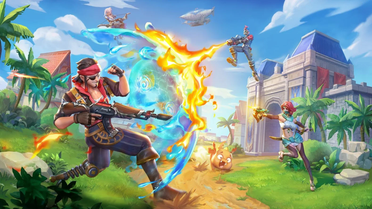 """Ride Out Heroes – Battle Royale """"súng ống kết hợp phép thuật"""" của NetEase mở đăng ký sớm"""