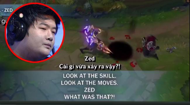 """Liên Minh Huyền Thoại: Dịch giọng nói của Zed Tử Thần Không Gian – """"Cà khịa"""" nhẹ Ryu"""