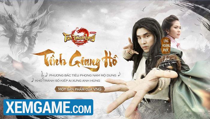 Ca sỹ Ưng Hoàng Phúc hóa thân thành Kiều Phong trong game Tân Thiên Long Mobile VNG
