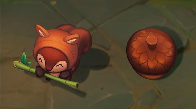 Liên Minh Huyền Thoại: Bạn nghĩ sao khi Teemo hóa thân thành sóc con và nấm sẽ là hạt dẻ?