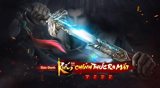 """Kiếm Định Thiên Hạ – """"hàng hiếm"""" webgame chính thức mở cửa hôm nay 18/4"""
