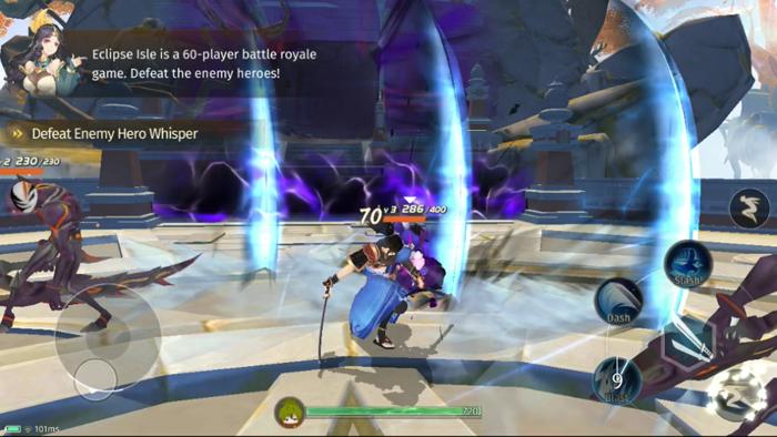 Trải nghiệm Eclipse Isle : MOBA kết hợp Battle Royale siêu mới lạ