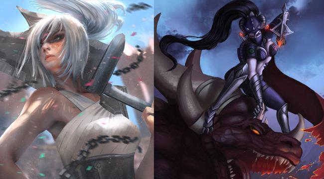 Liên Minh Huyền Thoại: Riven, Vayne và Master Yi trở thành mục tiêu trong phiên bản 9.10