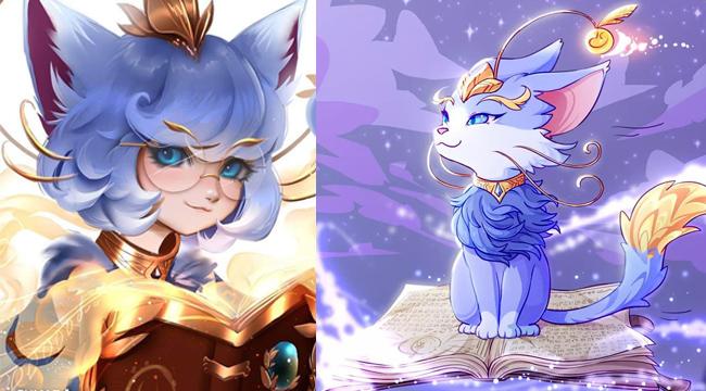 Chùm ảnh fanart tuyệt đẹp của tướng mới Yuumi – Cô Mèo Ma Thuật