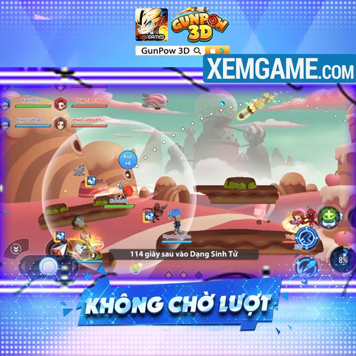 GunPow 3D   XEMGAME.COM