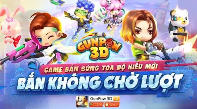 GunPow 3D mobile – game bắn súng tọa độ không cần chờ lượt hẹn ngày ra mắt