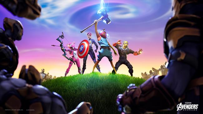 Sự kiện Endgame mới trong Fortnite sẽ cho bạn nhập vai siêu anh hùng chống Thanos