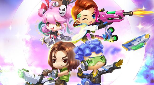 Tổng quan 4 class nhân vật sẽ xuất hiện trong GunPow 3D