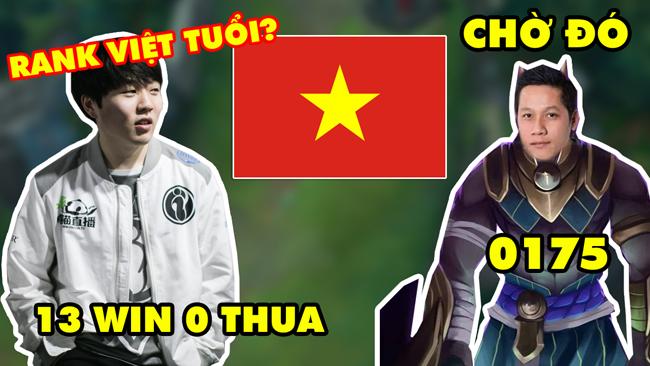 LMHT: IG ROOKIE lần đầu qua server LMHT Việt Nam đã trở thành Độc Cô Cầu Bại (13 trận win liên tiếp)